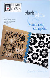 Black & White Summer Sampler from Heart in Hand - click for more