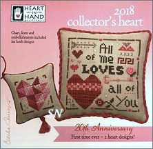 2018 Collector's Heart Kit from Heart in Hand - click for more