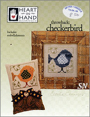 Checkerbird from Heart in Hand - click for more