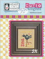 Songbird Curio Card from Heart in Hand - click for more