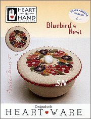 Bluebird's Nest Heartware Chart from Heart in Hand - click for more
