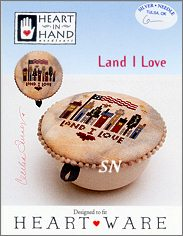 Land I Love Heartware Chart from Heart in Hand - click for more