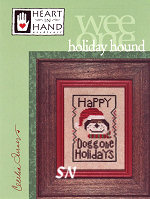 Holiday Hound from Heart in Hand - click for more