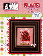 Ladybird Curio Card from Heart in Hand - click for more