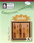 Christmas Markings Candles from Heart in Hand - click for more