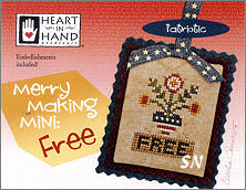 Merry Making Mini Free from Heart in Hand - click for more