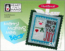 Merry Making Mini Bear from Heart in Hand - click for more