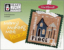 Merry Making Mini Peace from Heart in Hand - click for more