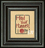 Mother's Wisdom Mind Your Manners from Heart in Hand -- click to see more