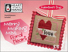 Merry Making Mini Floral Heart from Heart in Hand - click for more