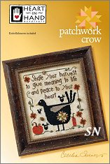 Patchwork Crow from Heart in Hand - click for more