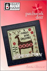 Patchwork Deer from Heart in Hand - click for more
