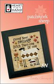 Patchwork Sheep from Heart in Hand - click for more