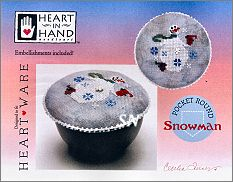 Pocket Round Snowman from Heart in Hand - click for more