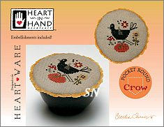 Pocket Round Crow from Heart in Hand - click for more