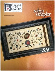 Robin Sampler from Heart in Hand - click for more