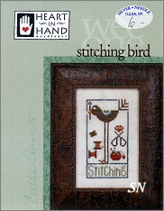 Stitching Bird from Heart in Hand - click for more