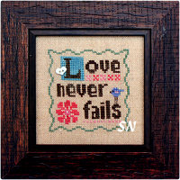 Wee Love Never Fails from Heart in Hand - click for more