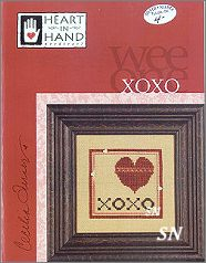 Wee One XOXO from Heart in Hand - click for more