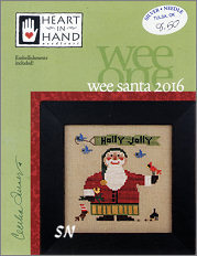 Wee One: Wee Santa 2016 from Heart in Hand - click for more