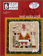 Wee Santa 2018 from Heart in Hand - click for more