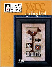 Quilting Bird from Heart in Hand - click for more