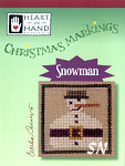 Christmas Markings Snowman from Heart in Hand - click for more