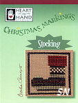 Christmas Markings Stocking from Heart in Hand - click for more