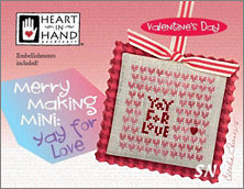 Merry Making Mini Yay for Love from Heart in Hand - click for more