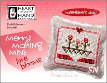Merry Making Mini:�Love Blooms from Heart in Hand - click for more