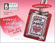 Merry Making Mini Love You More from Heart in Hand - click for more