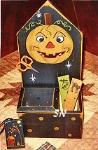 Halloween Jack Stitcher's Wallbox from Liberty Hill - click to see more