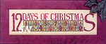 12 Days of Christmas by Hinzeit -- click to see lots more new designs