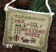 2013 SAMPLER Ornament from Homepsun Elegance - click to see more
