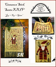 Cinnamon Stick Santa XXIV Joy Toy Giver from Homepsun Elegance - click to see more