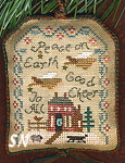 2007 Ornament Peace on Earth SAMPLER from Homespun Elegance -- click to see more