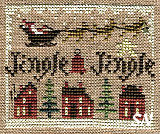 2011 Sampler Ornament Jingle Jingle from Homepsun Elegance - click to see more