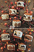 Rounds A Plenty II -- Halloween ornaments from Homepsun Elegance - click to see more