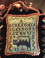 Wicked Cat Sampler from Homepsun Elegance - click to see more