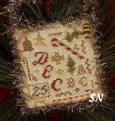 2015 Sampler Orn Christmassy Stuff from Homepsun Elegance - click to see more