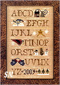 Winter Motif Sampler from Homespun Elegance - click to see more