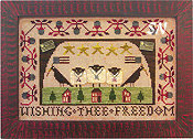 Wishing Thee Freedom from Homespun Elegance -- click to see more