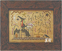 Witches Stitch, Too! from Homepsun Elegance - click to see more