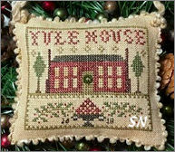 2018 Yule House Sampler Ornament from Homepsun Elegance - click to see more