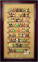 *99*  Bottles of Beer on the Wall from Ink Circles - click to see more