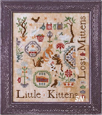 Three Little Kittens from Ink Circles - click to see more