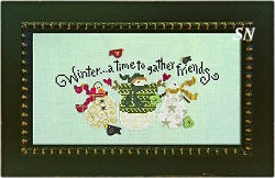 Winter Friends from Just Another Button Company - click to see more