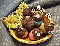 An Acorn Medley from Just Another Button Company - click to see more