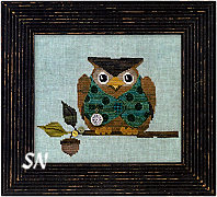 Woodland Owl from Just Another Button Company - click to see more
