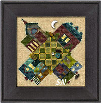 Autumn on Town Square from Just Another Button Company - click to see more